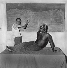 Posing, 2000 - Beyond the mask: Roger Ballen's outsider portraits