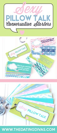SEXY Pillow Talk Conversation Starters - The Dating Divas My Funny Valentine, Valentines, Marriage Advice, Love And Marriage, Marriage Romance, Happy Marriage, Dating Advice, Diy Gifts Just Because, Conversation Starters For Couples