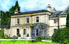 Colley House by Susie - Use the 'Create Similar' button to commission an artist to create your own artwork.