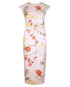 Botanical bloom print dress 295
