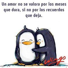 """""""Un #Amor no se valora por los meses que dura, sino por los recuerdos que deja."""" #Citas #Frases @Candidman"""