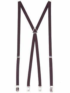 American Apparel Men Unisex Suspender One Size Brown Mens Wedding Attire Summer, Wedding Men, Wedding Stuff, Wedding Ideas, Groomsmen Suspenders, American Apparel, Fashion Brands, Unisex, Brown