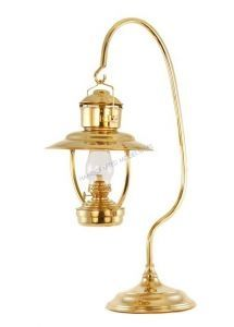 "Brass Trawler Table Lamp 23"" Nautical Decor from Handcrafted Nautical Decor - In stock and ready to ship"