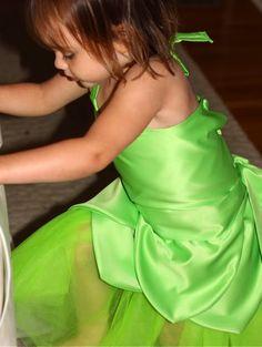 scarlet's tinkerbell costume tute - easier than it looks.