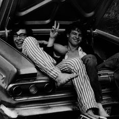 Hitchhiking on the way to Woodstock 1969