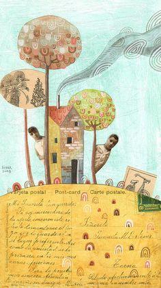 西班牙Gustavo Aimar插画 - JIMMY  LU - 绵