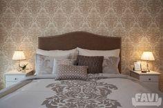 Vintage ložnice inspirace - Byt 4+kk v Karlových Varech - Favi.cz Decor, Furniture, Bed, Home, Home Decor