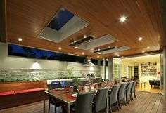Your indoor and outdoor heating specialist, Thermofilm supply energy efficient electric heaters to homes and businesses across Australia. Outdoor Fire, Outdoor Areas, Indoor Outdoor, Alfresco Designs, Grand Hall, Outdoor Heaters, Alfresco Area, Outdoor Living Rooms, Outdoor Kitchens