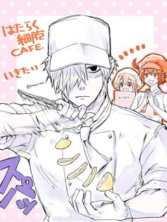 cells at work Work Friends, Happy Tree Friends, T Cell, Kimi No Na Wa, White Blood Cells, Fanart, Anime Kawaii, Anime Artwork, Anime Ships
