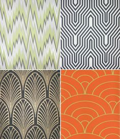 Art deco, I find patterns to be so interesting I can't keep my eyes away