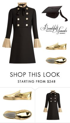 """Untitled #3161"" by doinacrazy ❤ liked on Polyvore featuring GIENCHI and Gucci"