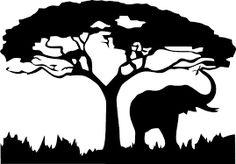 Image result for STENCILS elephants