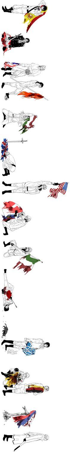 APH Hetalia | Sad Flags | Full