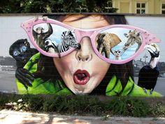 Arte urbano: o melhor segundo street art utopia (parte ii),© street art uto Urban Street Art, Best Street Art, Amazing Street Art, 3d Street Art, Street Artists, Amazing Art, Amazing Pics, Murals Street Art, Street Art Graffiti