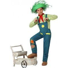 Gezien op beslist.nl: Boeren jongen verkleedkleding 128 (7-9 jaar)