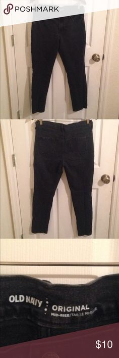 🎁Holiday sale🎁 Old navy original jeans Worn 2 times. Old Navy Jeans