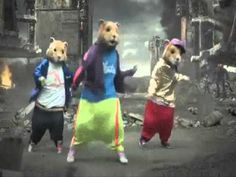 KIA SOUL HAMSTER & HALO DANCING TO PARTY ROCK.......love this!