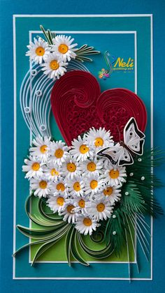 Neli Quilling Art: Heart for you