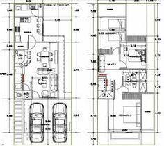 Resultado de imagen para planos de townhouse con medidas