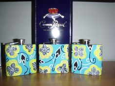 Lilly flasks and Crown for the big and little before semi. TSM.