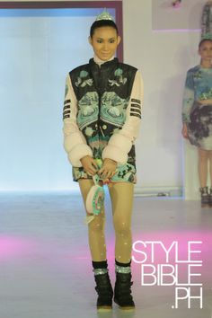 Reese Lansangan, School of Fashion and the Arts 2014 Graduation Show