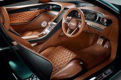 Interior Jaguar F Pace #BestInteriorDesignSoftware #InteriorColors Bentley Exp 10, Bentley Speed, New Bentley, Bentley Continental Gt, Custom Car Interior, Car Interior Design, Bentley Interior, Interior Photo, British Racing Green