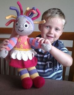 Knitting Pattern For Iggle Piggle Toy : UPSY DAISY KNITTING PATTERN FOR TOY   KNITTING PATTERN