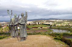 Monte do Gozo, La Coruña #Galicia #CaminodeSantiago #LugaresdelCamino