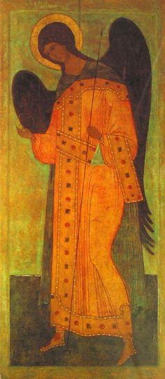 Archangel Gabriel icon, 16th century.