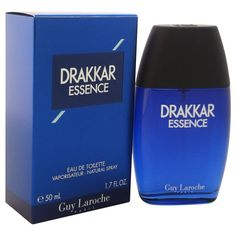 Guy Laroche Drakkar Essence Men's 1.7-ounce Eau de Toilette Spray (1), Pink grapefruit, Size 1.1 - 2 Oz.