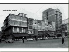 Antes de construirse la Fundación de Barrié, A Coruña