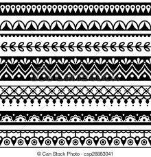 Image result for repetitive folk pattern