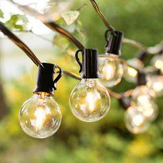 Patio String Lights, Globe String Lights, Umbrella Decorations, Moonlight Photography, Garden Gadgets, Backyard Camping, Led, Perfume Bottles, Bulb