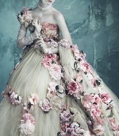 Opulenz a la Marie Antoinette by Luigi + Iango for Vogue Germany April 2014
