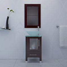 "17.75"" Soft Focus Small Vessel Sink Modern Contemporary Bathroom Vanity Furniture Cabinet JWH Imports,http://www.amazon.com/dp/B008FEEXBU/ref=cm_sw_r_pi_dp_b13dtb0E3KBVM73G"
