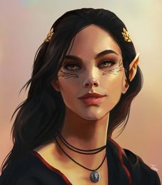 "tazmynburt: "" nylahvellan: "" Got an absolutely gorgeous commission of Nylah from I'm still freaking out! "" It was awesome working with you and Nylah! Female Character Design, Character Design Inspiration, Character Concept, Character Art, Character Ideas, Fantasy Portraits, Character Portraits, Fantasy Artwork, Dnd Characters"