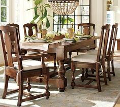 Dining Table-  Extending Dining Table #potterybarn