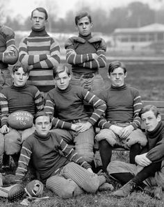 Junior Preps Football Team, 1906