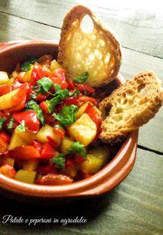 L'emporio 21: Patate e peperoni in agrodolce