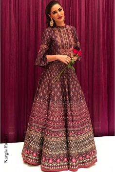 Shop from an exclusive range of luxurious wedding dresses & bridal wear by Anita Dongre. Indian Wedding Outfits, Pakistani Outfits, Indian Outfits, Indian Attire, Indian Wear, Indian Designer Outfits, Designer Dresses, Designer Kurtis, Collection Eid