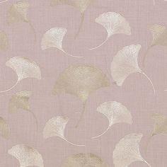 Stout's embroidery fabric  Veranda color Lilac