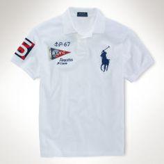 Classic-Fit Mesh Polo - Classic-Fit Polo Shirts - RalphLauren.com Mens 56582b35a3