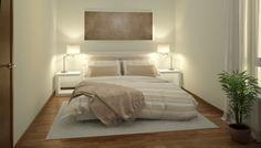 Patja+kerää+kamalan+määrän+likaa+ja+bakteereja+–+näin+puhdistat+sen+vain+2+raaka-aineella White Bedroom, Simple, Furniture, Uni, Home Decor, Beige, Decoration Home, Room Decor, Home Furnishings