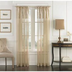 CHF & You Cache Tailored Curtain Panel