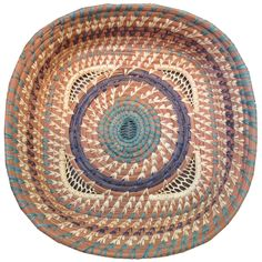 Our Latin American baskets include fair trade pine needle baskets from Guatemala. Mayan weavers create the baskets from pine needles and raffia. Pine Needle Crafts, African Crafts, Pine Needle Baskets, Bubble Art, Pine Needles, Paper Basket, Dining Room Walls, New Crafts, Basket Weaving