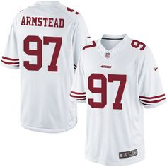 Youth Nike San Francisco Will Redmond Limited White NFL Jersey d3c2b1544
