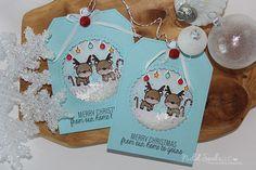 Nichol Spohr LLC: Handmade Holiday 2016 Day 5   Mama Elephant Reindeer Shaker Tags + GIVEAWAY