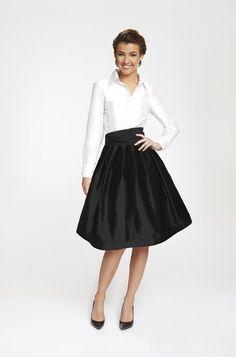 Wrap Shirt Thai Silk Taffeta Black | Shirts, Shops and Wrap shirt