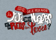 Lettering by Bomboland