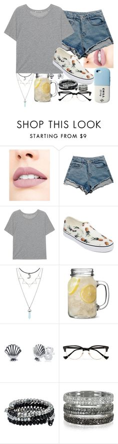 """you gotta not"" by emmafromrio ❤ liked on Polyvore featuring Jouer, Acne Studios, Vans, Disney, Cutler and Gross, Bernard Delettrez and Valfré"